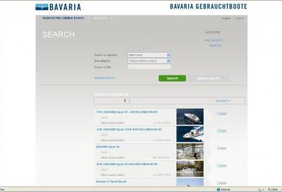 Barca usata con Bavaria, nasce il sito ad hoc