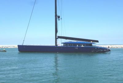 Wally 50 m, gigante di carbonio