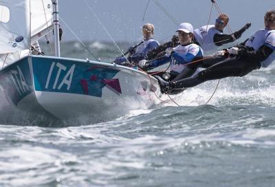 Giulia e Giovanna nella Medal Race
