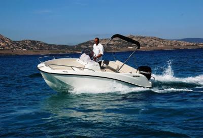 Quicksilver 505 Open, la prima barca