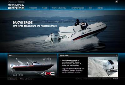 Nuovo sito di Honda Marine