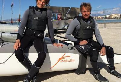Lorenzo Bressani e Giovanna Micol verso Rio 2016 a bordo del Nacra 17