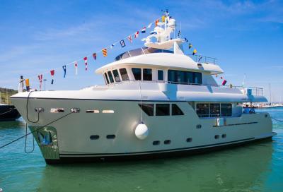 Cantiere delle Marche, lo yacht per navigare intorno al mondo
