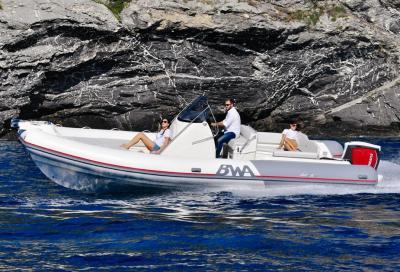 BWA Sport 28 GT, rib robusto e spazioso con due aree conviviali