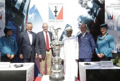America's Cup: primo evento ufficiale del 2016 in Oman