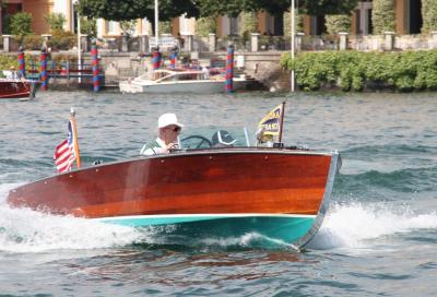 Barche d'epoca tra i laghi di Mantova