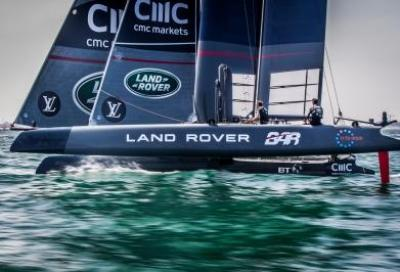 Louis Vuitton America's Cup World Series, Land Rover BAR vince la tappa in Oman