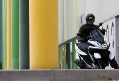 Prova il tre ruote Yamaha per correre in sella con Valentino Rossi