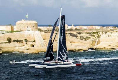 Maserati Multi 70 batte il record della Rolex Middle Sea Race