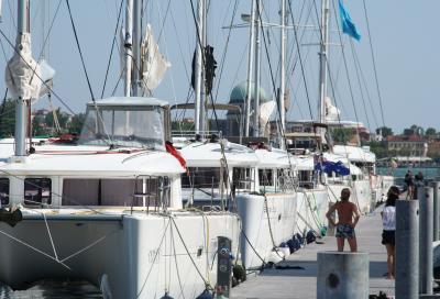 A Venezia torna la grande festa dei catamarani Lagoon