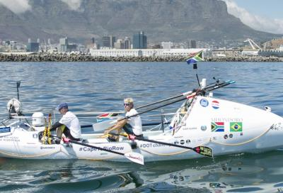 DotChallenge, in barca a remi da Cape Town a Rio