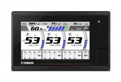 Yamaha lancia CL7, il nuovo display da 7''