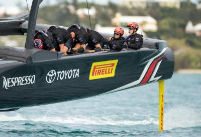 Pirelli insieme ad Emirates Team New Zealand per vincere la Coppa