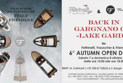 Frauscher Autumn Open Doors il 7 e 8 ottobre