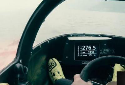 Nuovo record mondiale a 277,5 km/h per Buzzi
