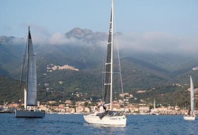 Il giro dell'Elba in regata