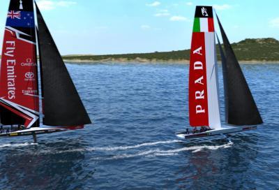 Garmin in Coppa America a bordo di Luna Rossa Challenge