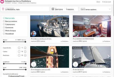 Click & boat, noleggio in punta di click