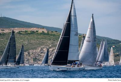 Grand Soleil Cup, 70 barche in festa
