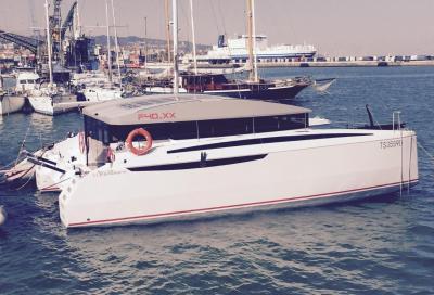 Delta Catamarans F40 XX, in acqua il cat disegnato da Ceccarelli