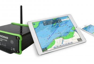 Digital Yacht Nomad, l'Ais portatile
