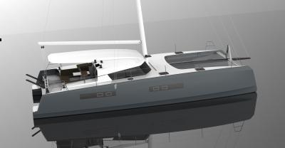 Eos Catamaran 47, cat francese per la crociera d'altura