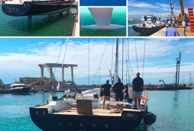 È sceso in acqua JIKAN, il nuovo A80 di Advanced Yachts