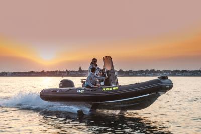 Seair Flying Rib, la prova