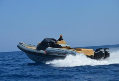 Ranieri Cayman 38E, un gommone di 11,70 metri omologato come natante