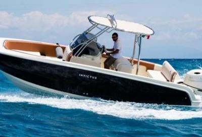 Invictus 240 FX, una barca e due versioni: pesca e walkaround
