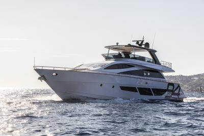 Amer Twin 94, un superyacht da premio