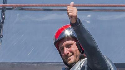 Max Sirena, skipper di Luna Rossa al convegno sul design al Poli di Milano
