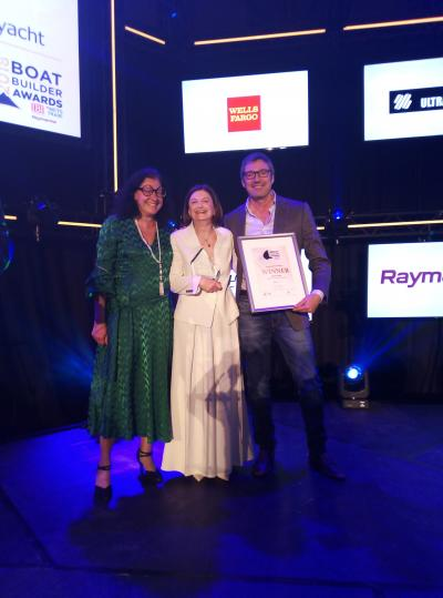 Amer Twin 94 vince l'Environmental Initiative Award al Mets di Amsterdam