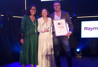 Amer Twin 94 vince l'Environmental Initiative Award al Mets di Amsterdam