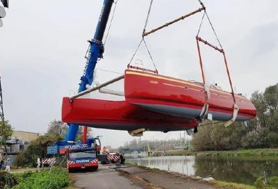 Varato l'Ice Cat 67, il catamarano più grande mai costruito in Italia