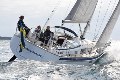 Hallberg-Rassy 340, una piccola per grandi navigazioni in tutto il mondo