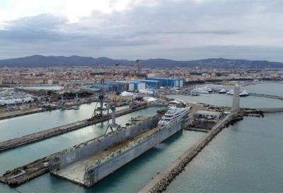 Livorno: si torna a lavorare nel Bacino Galleggiante
