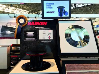 Harken, CLR Mooring Winch dedicato all'ormeggio