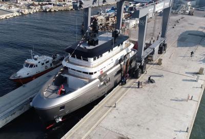 Varato ad Ancona, Audace, lo yacht con attico