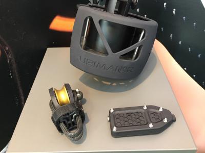 Ubi Maior Italia, accessori da regata stampati in 3D