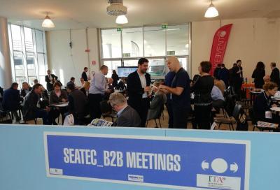 A Seatec e Compotec 2019, si incontrano aziende e buyer da tutto il mondo