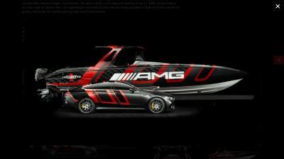 Ecco la 41 'AMG Carbon Edition nata dalla collaborazione tra Mercedes-AMG e Cigarette Racing
