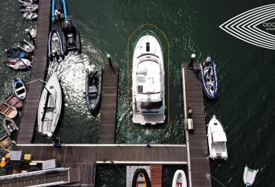 Raymarine Docksense, come funziona l'ormeggio assistito