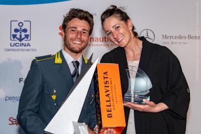 Ruggero Tita e Caterina Banti vincono il premio Velista dell'Anno FIV 2018