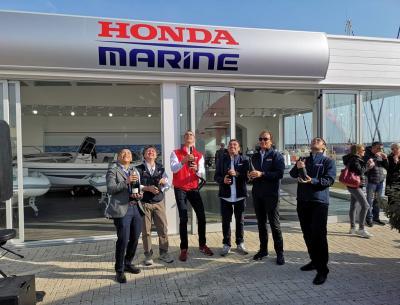 Apre il concessionario ufficiale Honda Marine Center Roma