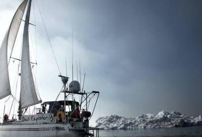 Nanni Acquarone oltre il Circolo Polare Artico