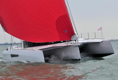 Prova Neel 47, un trimarano per volare sull'acqua