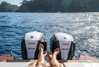 Sul lago Maggiore per provare i nuovi fb Evinrude E-TEC G2
