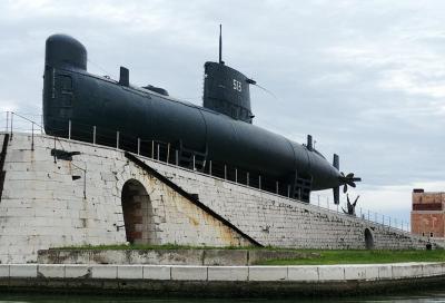 Al Salone di Venezia a bordo del sottomarino Enrico Dandolo