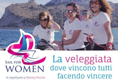 """A Cagliari la prima """"sail for women"""" per la prevenzione oncologica"""